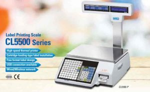 Cas printing weighing machine
