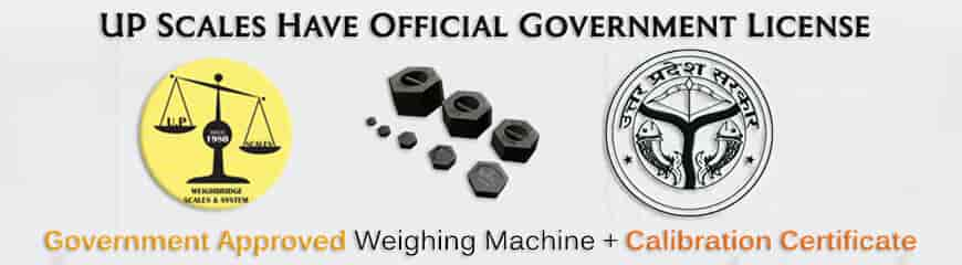Government passing, stamping & calibration certificate