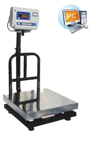 weighing scale with PC Interface