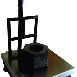 platform weighing scale with builtin printer