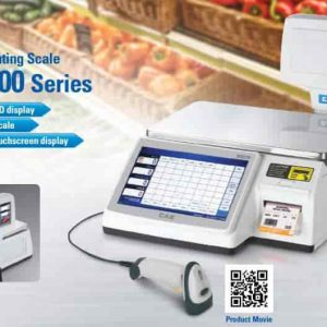 cas CL7200 Series Label Printing Scale CAS Price Computing Weighing