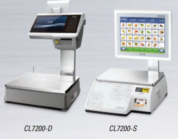 CL7200 Series Label Printing Scale CAS Price Computing Weighing