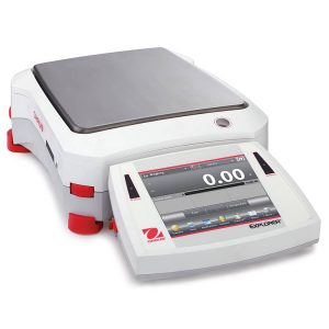Ohaus weighing analytical scale