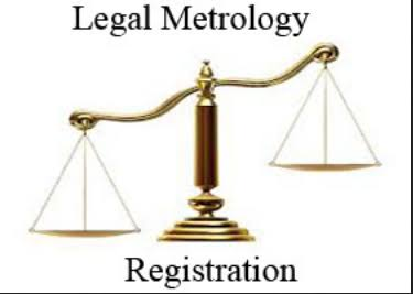 legal metrology packing registration