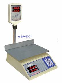 30 kg weighing scale with steel body