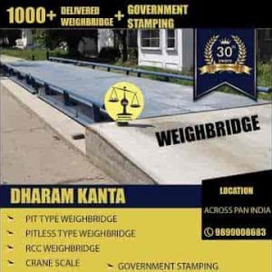 weighbridge manufacturer