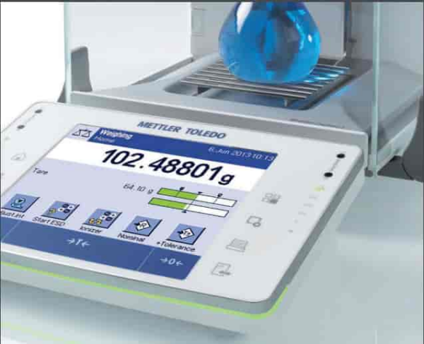 Analytical Balances Capacity 120 gm Readability 0.01 mg & 0.1 mg METTLER TOLEDO's
