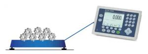 platform weighing scale counting