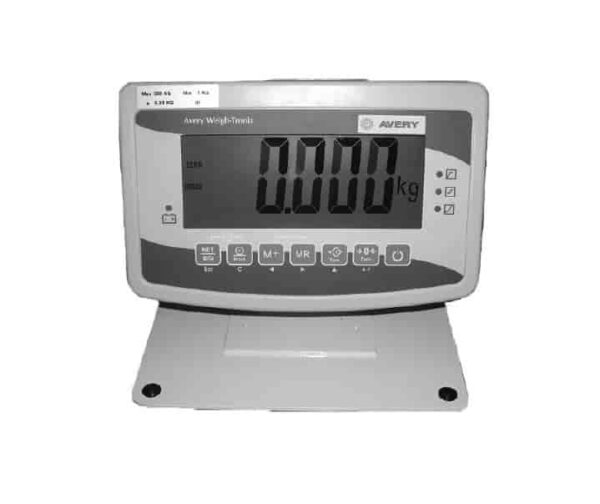 Industrial weighing scale indicator